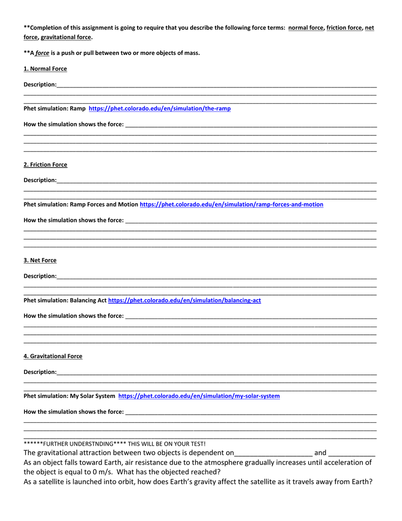 Balancing Act Phet Lab Worksheet Answers Proga Info