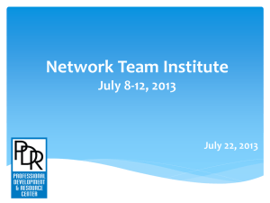 Network Team Institute