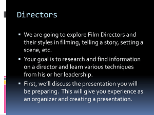 Directors-Well known*.and not so well known