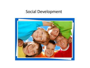 Chapter 3 Part 4 - Social Development