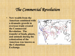 Capitalism, Mercantilism and Global Trade