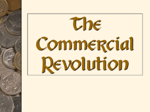 Commercial Revolution PowerPoint