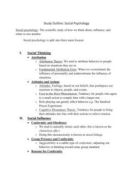 Intro to Social Psychology  Homework Help   Videos  amp  Lessons     Evanhoe Help Desk Social Psychology