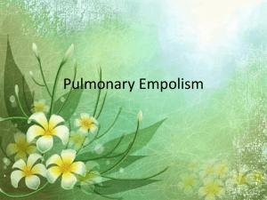 """Pulmonary Edema """"Nursing care"""""""
