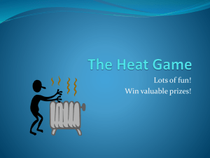 The Heat Game - Bibb County Schools