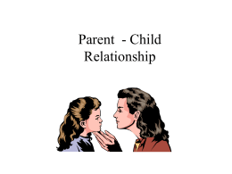 Unmarried Parents and Their Children