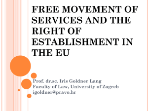Fundamental Freedoms in the EU