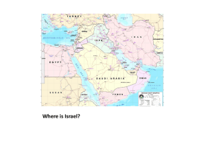 the Country of Israel