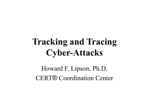 Tracking and Tracing Cyber