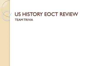 us history eoct review