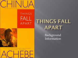 Things Fall Apart - Littlemiamischools.org