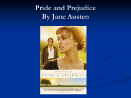 victorian england research topics pride and prejudice