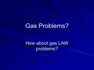 Gas Problems?