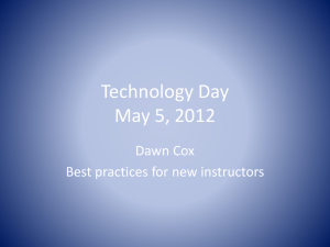Technology Day May 5, 2012