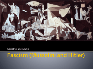 Fascism - Mr. McClung's 30