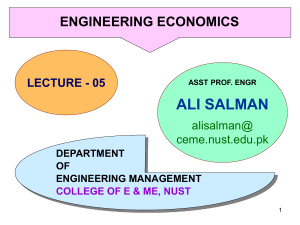 Economics 05 - The Computer Engineers' Blog