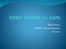 Mike_FHWA_UPDATE_2014_