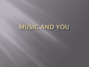 Music and you - Over-blog