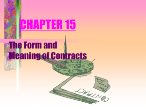 Power Point Chapter 15