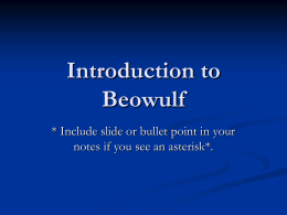 beowulf and paganism