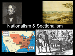 Nationalism - Walton High