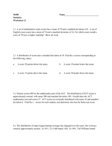Worksheet 11