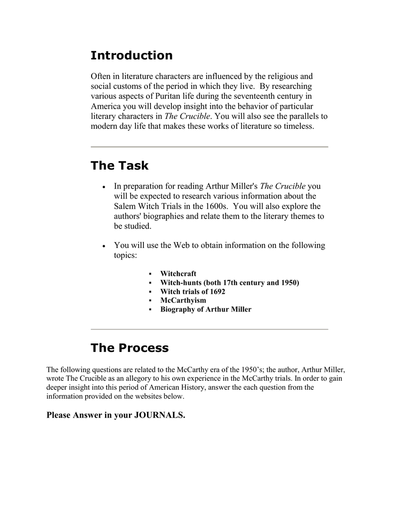 worksheet Salem Witch Trials Worksheet the crucible