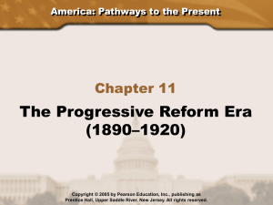 Progressive Reform Era