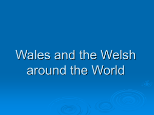 Wales and the Welsh around the World