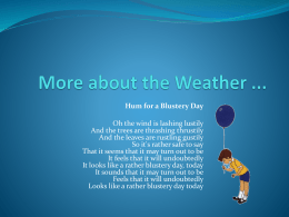 More about the Weather 2