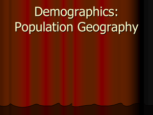 Population Geography - geography-bbs