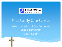 First Family Care Service