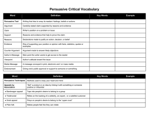 PersuasiveTerms 6th Reading printable chart