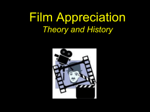 Film Theory and History Powerpoint