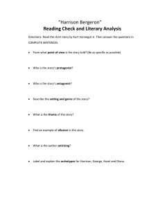 Reading Check and Literary Analysis