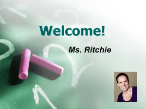 Ms. Ritchie's Website