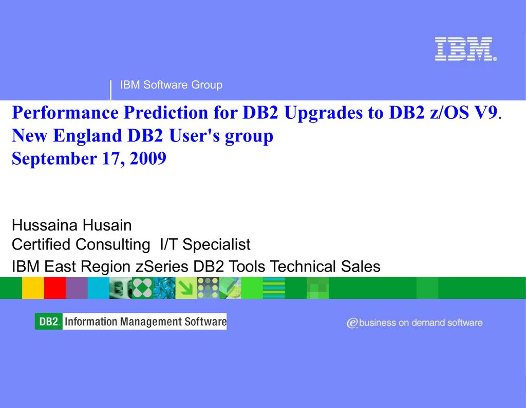 DB2 Path Checker Explain - New England DB2 Users Group
