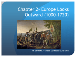 Chapter 2- Europe Looks Outward (1000