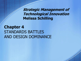 Ch4 Standards Battles And Design Dominance