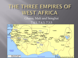 The Three Empires of West Africa