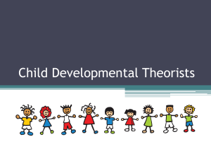 Child Developmental Theorists