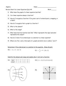 Algebra Name