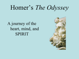 the feminine psyche in the odyssey by homer Structure of the odyssey in relation to the psyche- part 2 odysseus moves from being all masculine to incorporating the feminine or homer (1992) the odyssey.