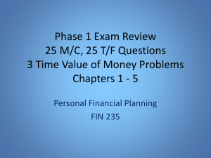Phase 1 Exam Review
