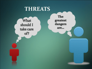 "Threats – dangers on the web - Youth of Europe connect to a ""Right"