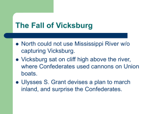 The Fall of Vicksburg