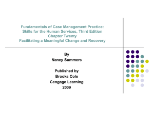 Fundamentals of Case Management Practice: Skills for