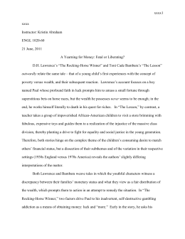 Term Papers And Essays Sample Student Fiction Essay A The Thesis Statement In A Research Essay Should also Thesis Statement Narrative Essay Works Cited Bambara Toni Cade The Lesson Gorilla My Love Proposal Essays