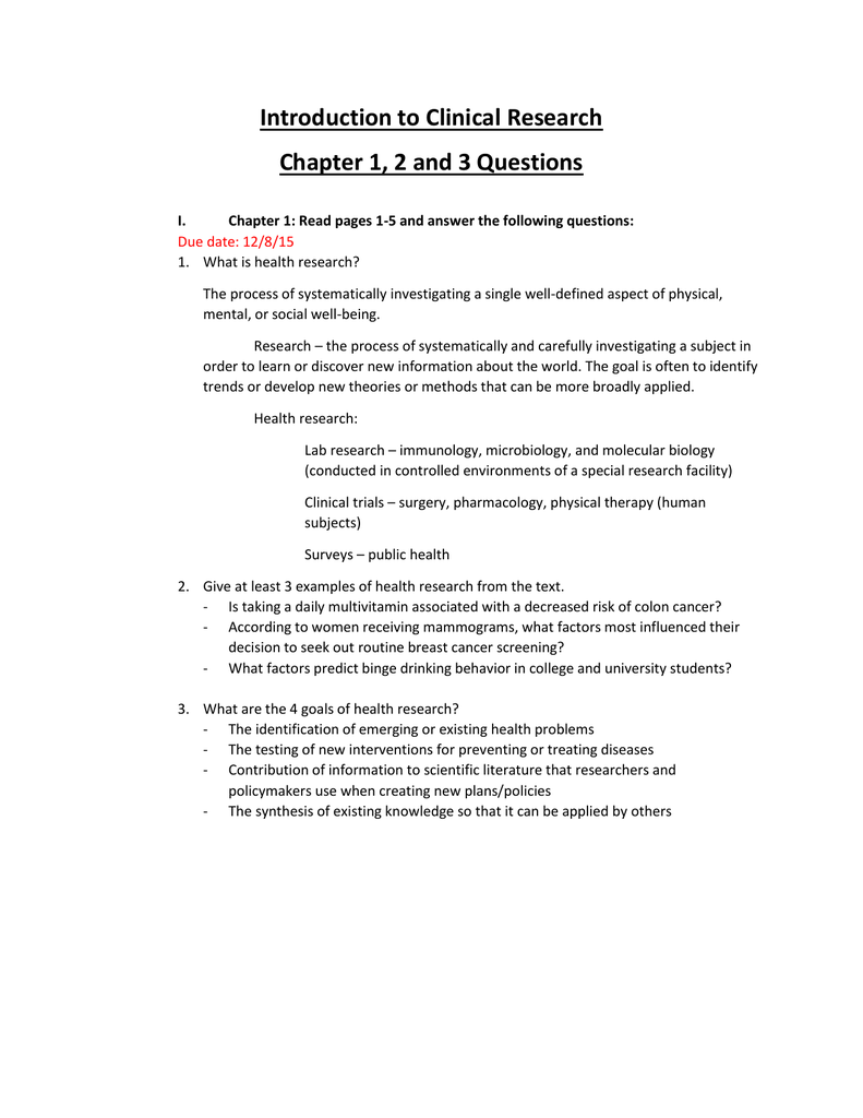 Chapter 1 2 And 3 Answers