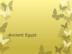 Anciwent Egypt